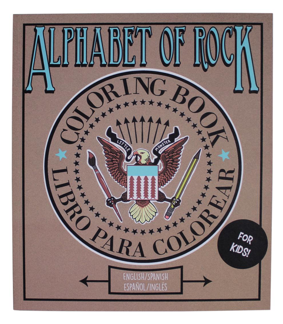 ALPHABET OF ROCK 2ª Edición - Little Monster