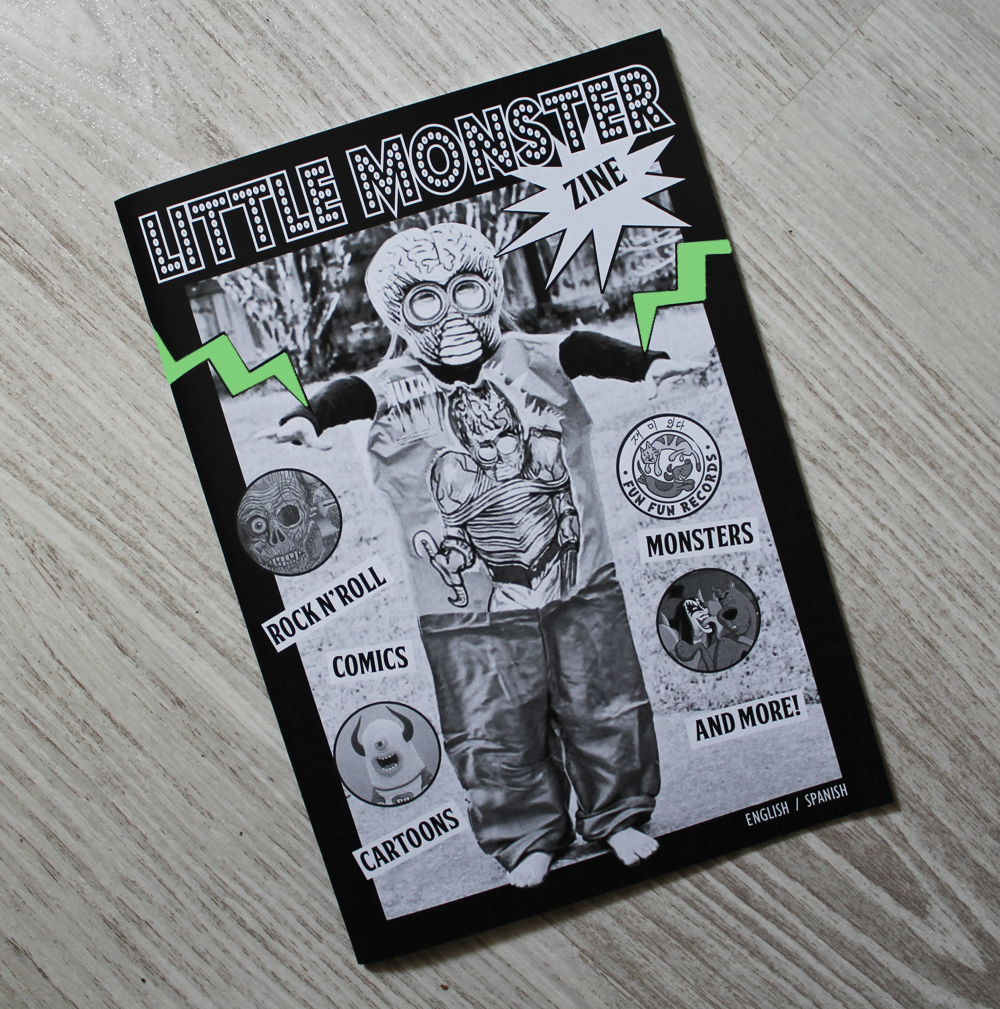 LITTLE MONSTER ZINE - Little Monster