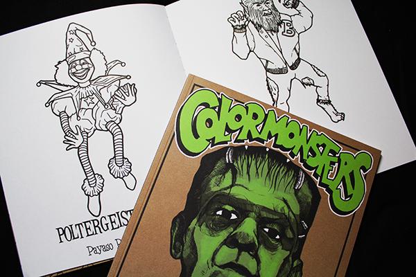COLOR MONSTERS: El libro de monstruos para colorear. - Little ...